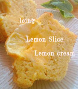 和歌山からの有機レモンでおからマフィン焼いています。