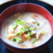大腸がん術後レシピ/粕でからだがぽっかぽか!!カンタン鮭粕汁